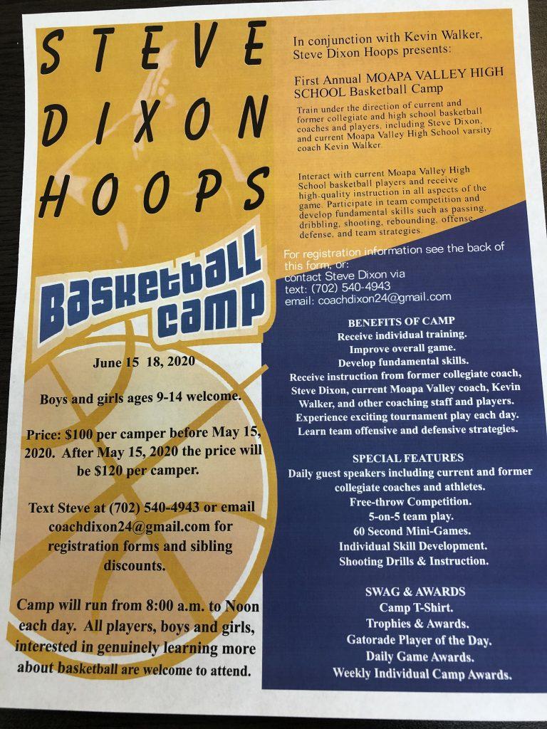Hoops Camp Flyer